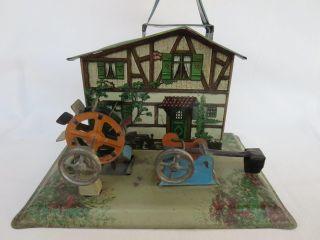 W.  K. ,  Wilhelm Krauss,  Große Wassermühle Mit Pochwerk,  Vor 1945,  Antriebsmodell Bild