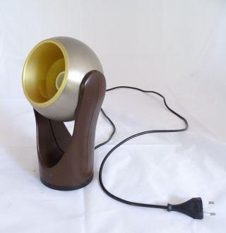 Panton Ära 70er Jahre Tischlampe Schwenkbarer Kugelschirm Kugellampe Bild