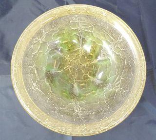 Große Art Déco Wmf Ikora Glas Schale In Sehr Seltener Farbgebung Design Bild