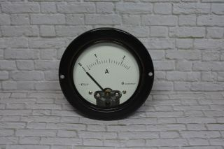 Neuberger Amperemeter 0 - 2a Ac; K23 15 Bild
