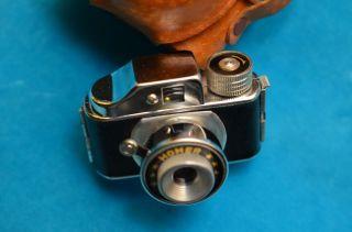 Sammlerstück Alte Minikamera Miniaturkamera Homer Lederetui 50/60er Jahre Bild