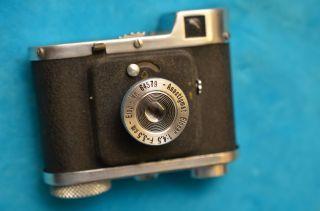 Sammlerstück Kleinbild Sucherkamera Elop Elca 40er Jahre Bild