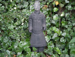Chinesischer Terrakotta Krieger 65cm Offizier Xian Terracotta Krieger China 891d Bild