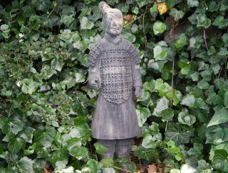 Chinesischer Terrakotta Krieger 65cm Soldat Xian Terracotta Krieger China 890d Bild