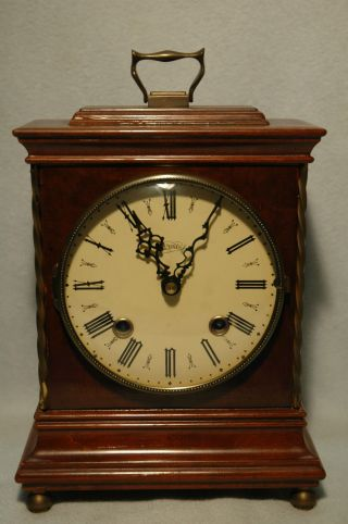 Tischuhr,  Kaminuhr,  Sammleruhren,  Warmink Wuba,  Bracket Clock Bild