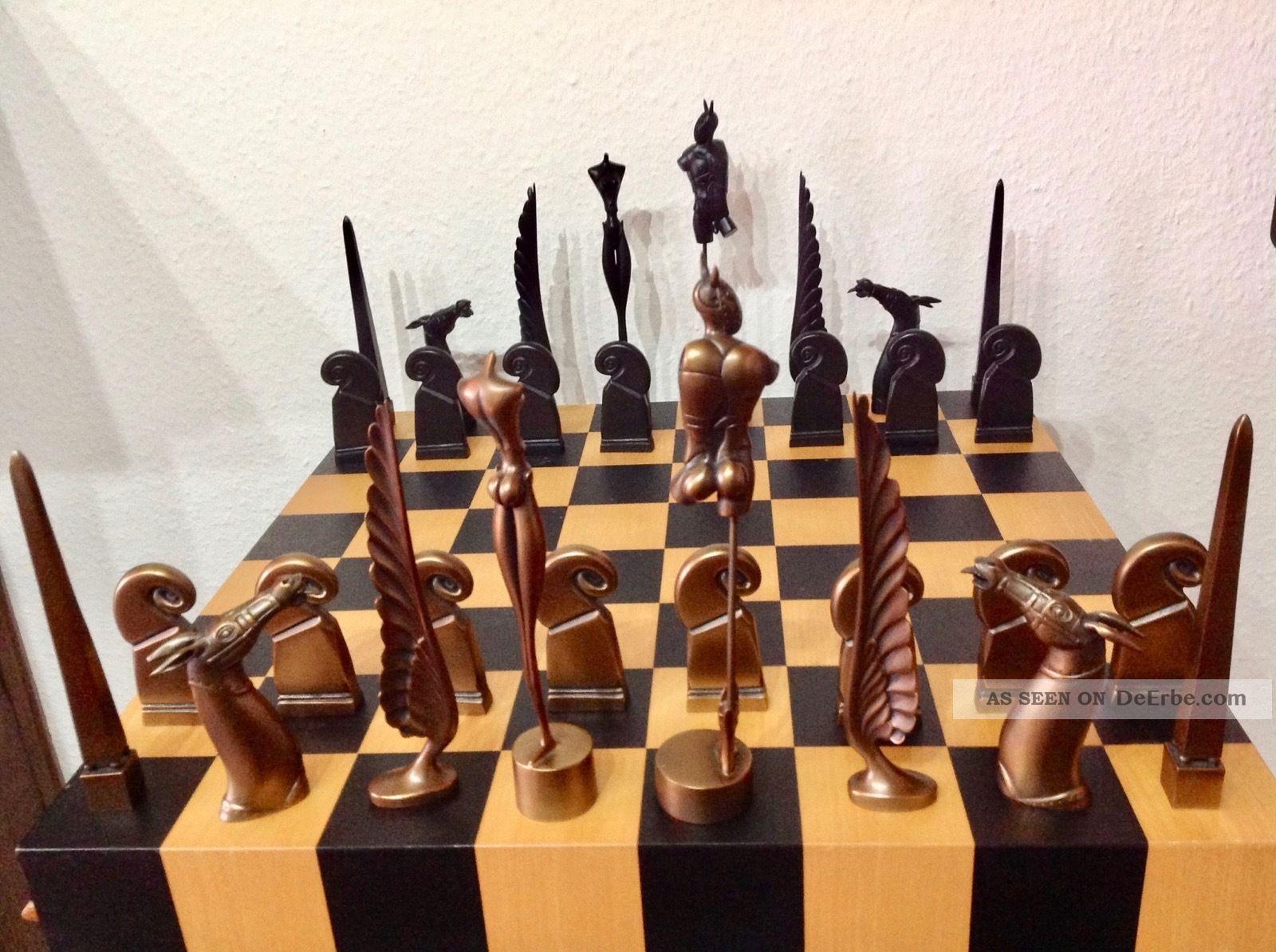 Paul Wunderlich - Schachspiel - Bronze Figuren / Skulpturen 1950-1999 Bild