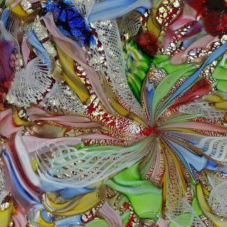 Red Avem Murano Glas Bowl Schale Tutti Frutti Millefiori Italy Design Bild