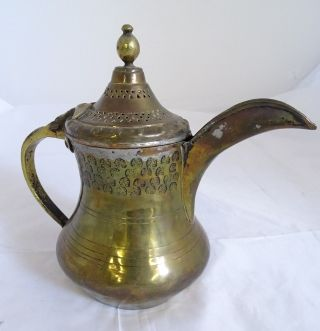 Orientalische Antike Kanne Teekanne Schenkkanne Wasser Gefäß Herrlich Verziert Bild