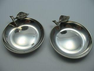 Ägypten 2 Wunderschöne Kleinere Schalen Aus 900 Silber Bild