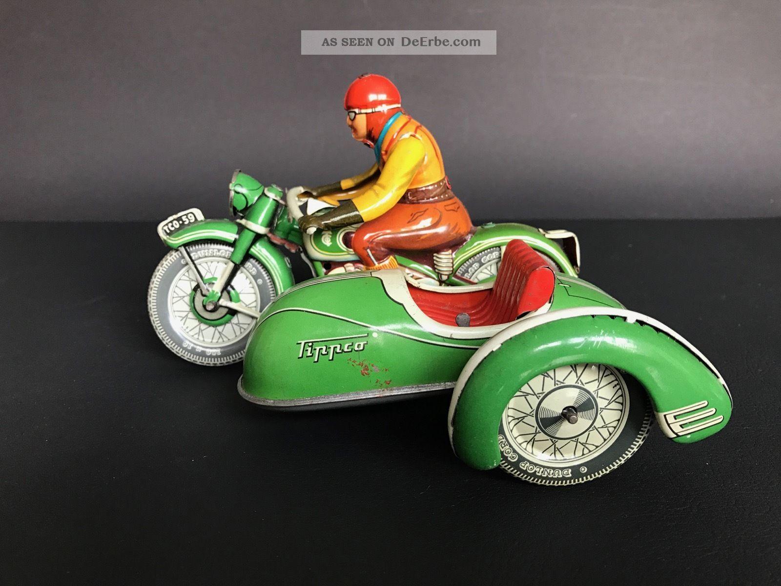 Tippco Motorrad Tco - 59 Original, gefertigt 1945-1970 Bild