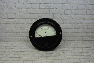 Voltmeter Hersteller: Müller & Ziegler,  0 - 60vac 7 - 71; K23 107 Bild