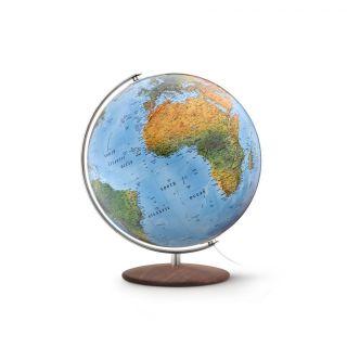 Räth Globus Leuchtglobus Handkaschiert 37cm Durchmesser Doppelbild - Kartografie Bild