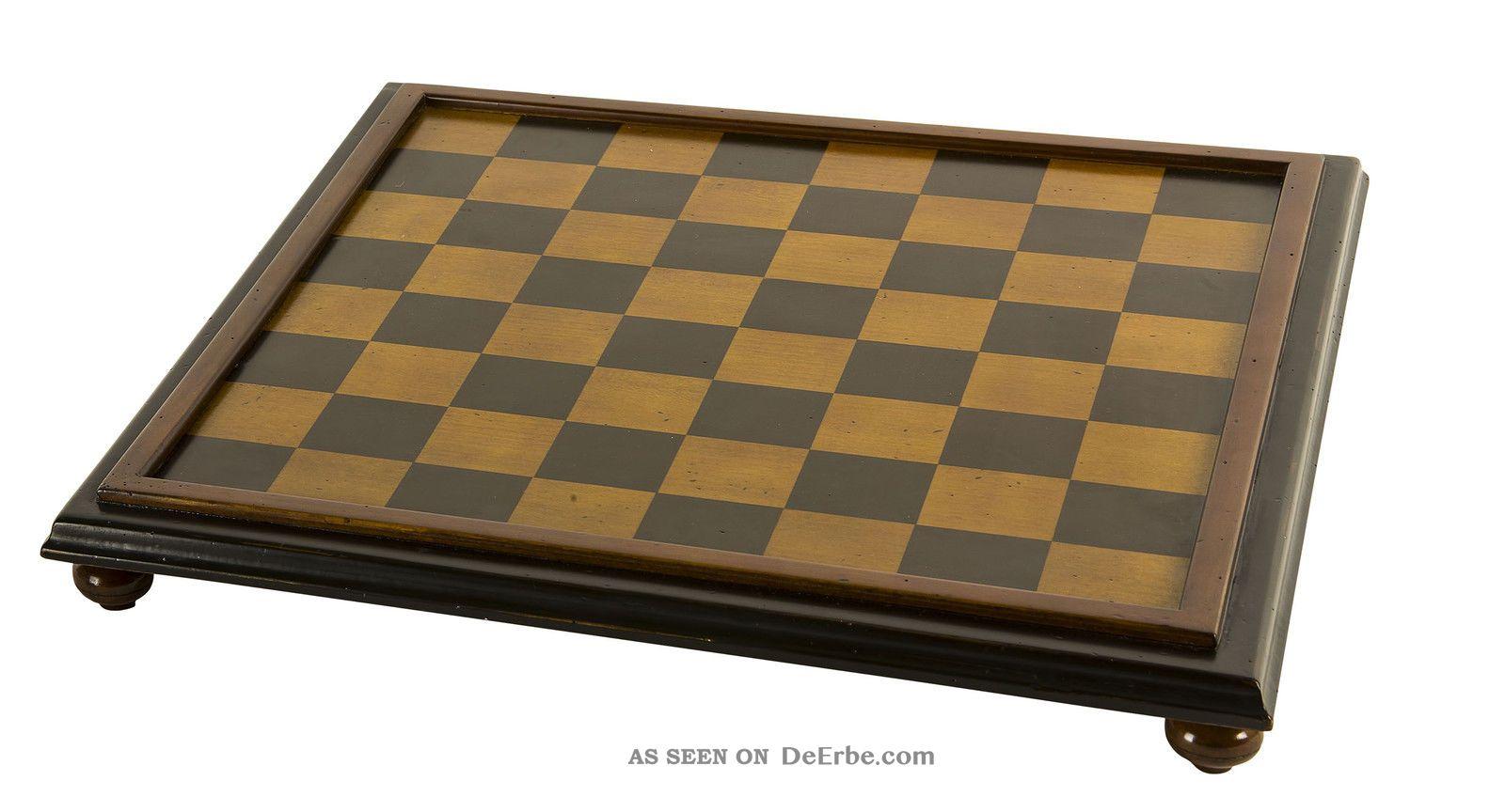 Authentic Models Classic Chess Board - Klassisches Schachbrett Gefertigt nach 1945 Bild