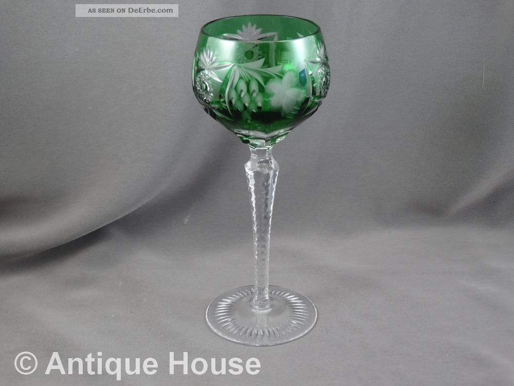 Nachtmann Römer Weinglas Grün Dunkelgrün Kristall Bild