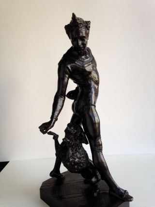 George De Chemellier 1835 - 1907 - Bronze - Get Up Clown Bild