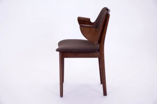 60er Danish Design Hans Olsen For Bramin Stuhl 60s Arm Chair Mid Century Modern Bild