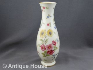 Rosenthal ältere Vase Blumendekor - Modell Traudel Bild