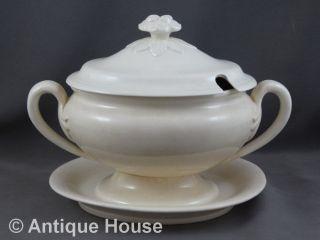 Kleine Alte Terrine Keramik Ankermarke Bild