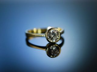 SolitÄr Ring Gold 585 Brillant 0,  95 Ct Diamantring Verlobungsring Solitaire Bild