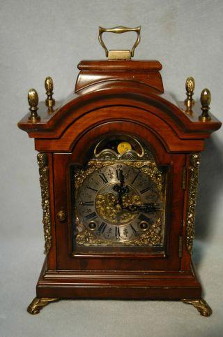 Tischuhren,  Sammleruhren,  Mondphasenuhr,  Bracket Clock,  Warmink Wuba Bild