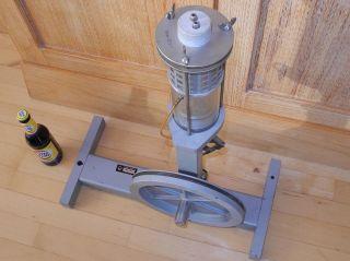 Stirlingmotor 65cm - Vintage Standmodell 13,  5kg.  Leybold - Heraeus Lh Germany Bild