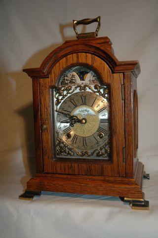 Tischuhr,  Kaminuhr,  Sammleruhren,  Bracket Clock,  Warmink Wuba Bild