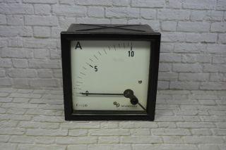 Neuberger Amperemeter 7042 - 50551/din 0 - 10aac; K23 99 Bild