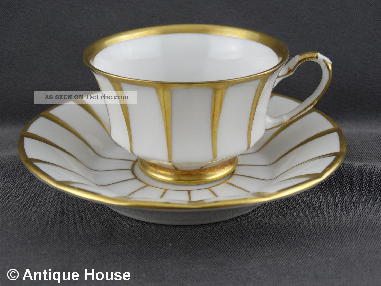 Fürstenberg Mokkatasse Grecque Athena Gold Nach Marke & Herkunft Bild