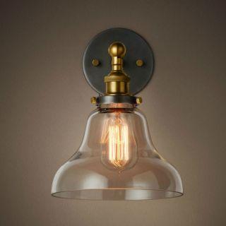 Antik Rustikal Vintage Copper - Wave Wandleuchte Inkl.  Leuchtmittel Bild