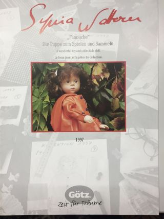 1997 Sylvia Natterer Puppenkatalog Bild