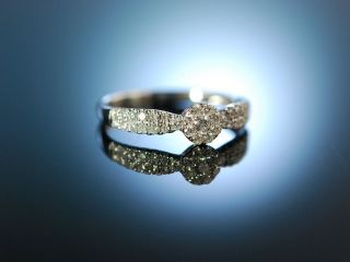 My Love Engagement Ring Verlobungsring Weiss Gold 750 Brillanten 0,  45 Ct Bild