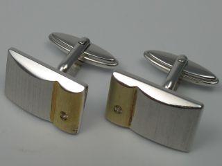 Franz Scheuerle Klassische Designer Manschettenknöpfe Aus 925 Sterling Silber Bild