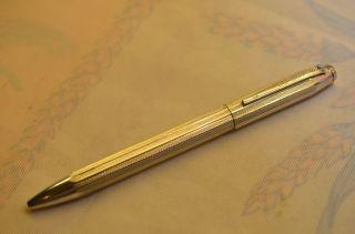 Sammlerstück Alter Orig.  Boscolor Vierfarbkugelschreiber Silber 935 Bild