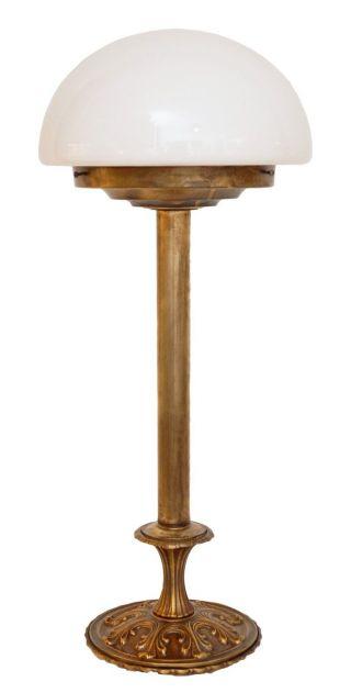 Tischlampe Art Déco Tischlampe Leuchte Pilzlampe Bauhaus Stil 1940 Bild