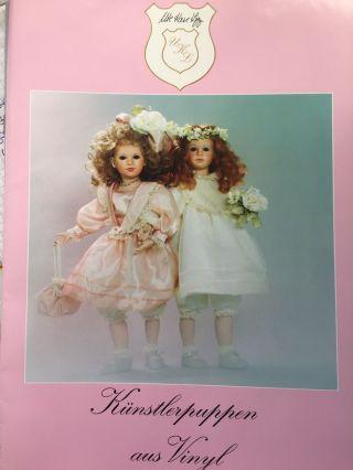 1996 Ute Kase - Lepp Künstlerpuppen Aus Vinyl,  Katalog Bild