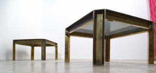 Peter Ghyczy - Brass Sidetable 1966 | Coffe Table | Beistelltisch - Gemarkt Bild