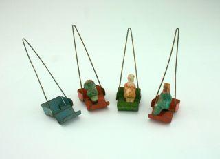 4 Goldeln Für Karusell - Ersatzteile Für Antriebsmodell Einer Dampfmaschine Bild