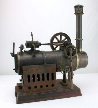 Alte Dampfmaschine 450 Von Josef Falk Jf J.  F. Bild