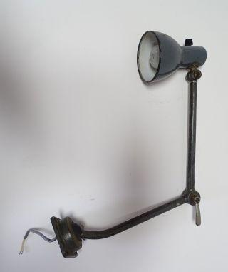 Bauhaus Rarität Kandern Schreibtisch Lampe Lörrach Vintage Design Loft Bild