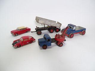 Antik Spielzeug Rarität Holz - Und Blech Spielzeug U.  A.  Tippco Bastler Konvolut Bild