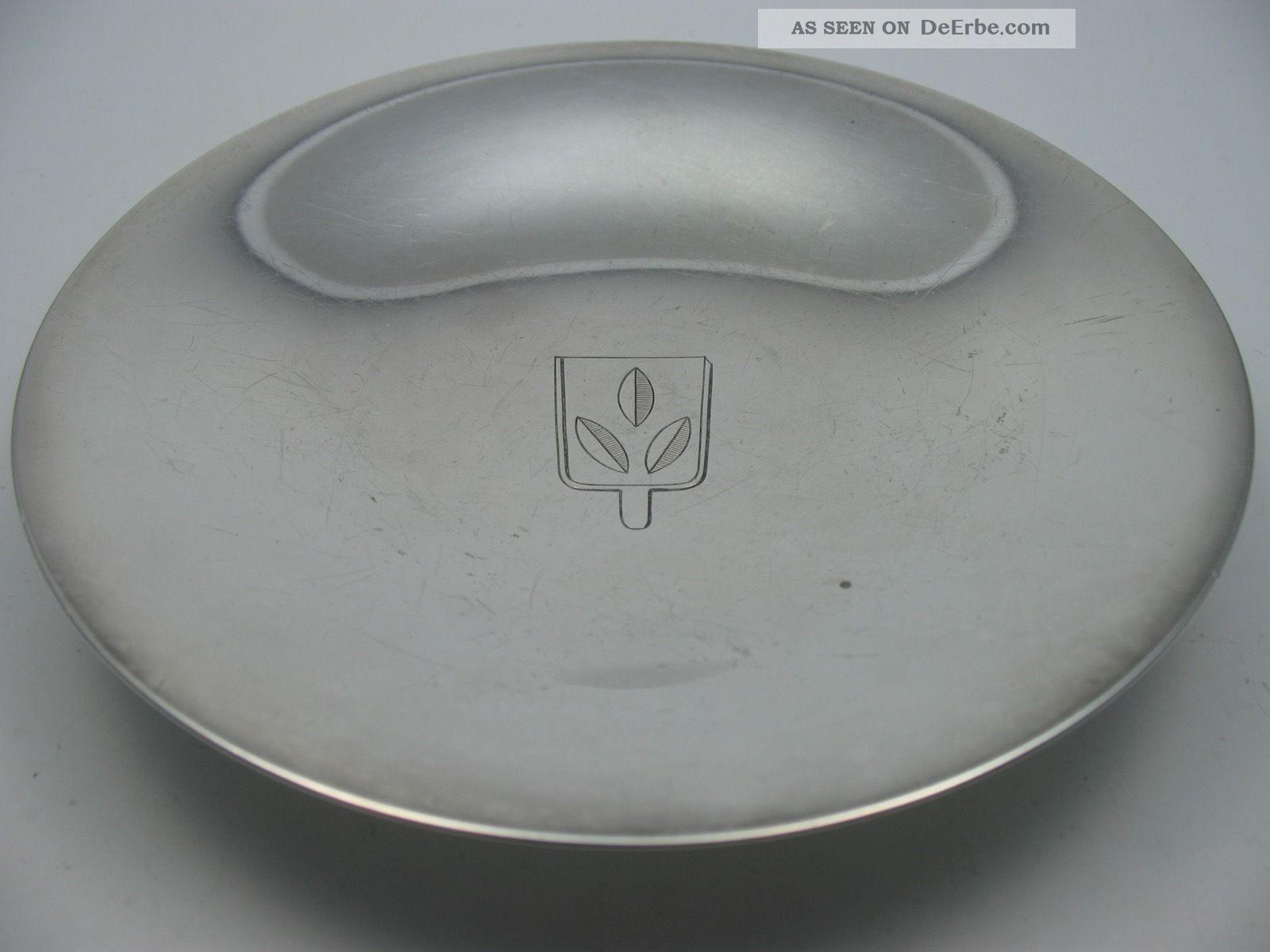 Georg Jensen Denmark Schöne Alte Schale Aus 925 Sterling Silber Objekte vor 1945 Bild
