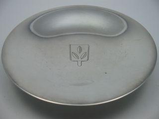 Georg Jensen Denmark Schöne Alte Schale Aus 925 Sterling Silber Bild