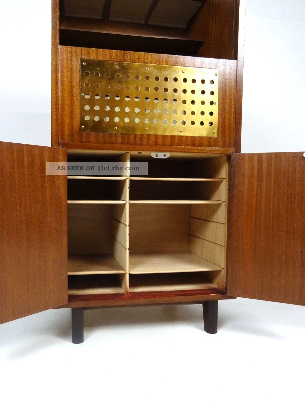 60er design bar danish modern m bel teak mid century barschrank vintage. Black Bedroom Furniture Sets. Home Design Ideas