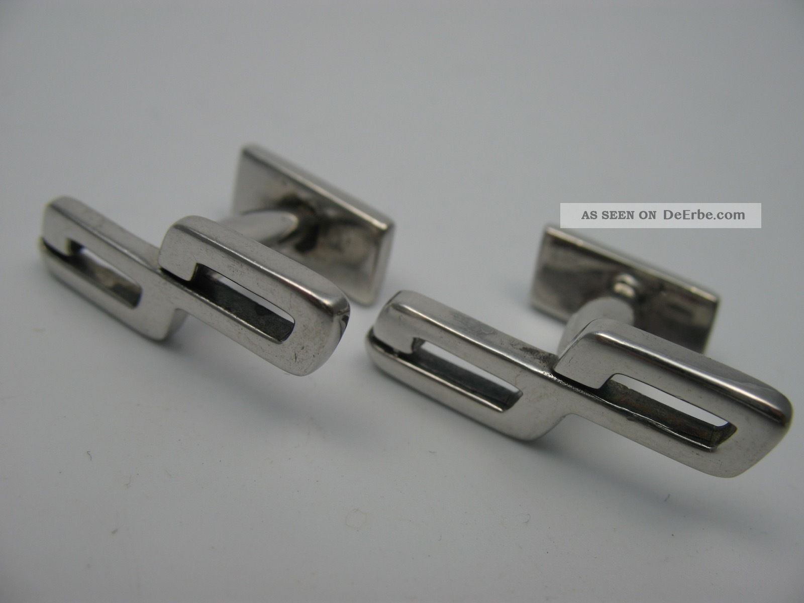 Boundless Ausgefallene Designer Manschettenknöpfe Aus 925 Sterling Silber Schmuck & Accessoires Bild