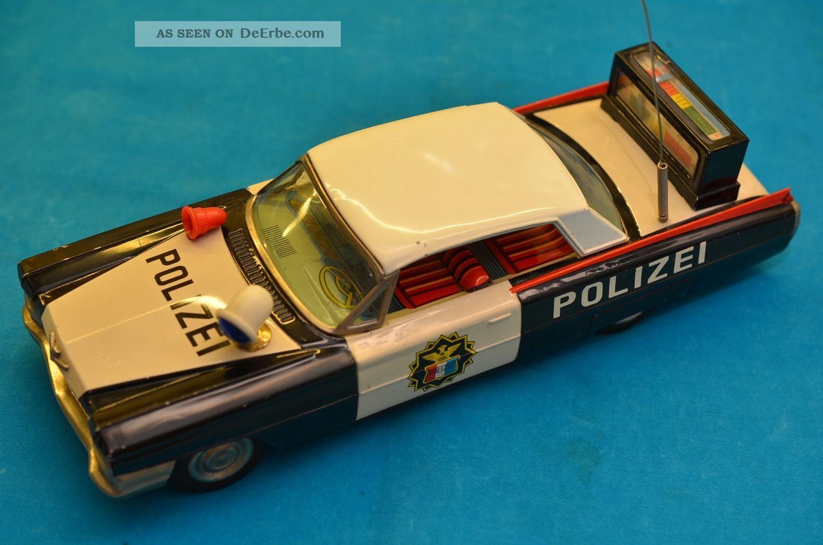 Sammlerstück Ichiko Cadillac Blechauto Schwungradantrieb Japan 60er Jahre Original, gefertigt 1945-1970 Bild