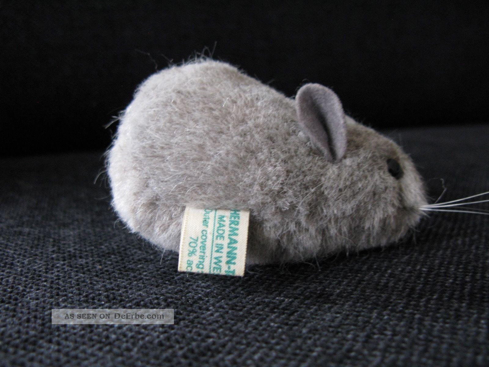 Graue Maus Teddy Hermann Stofftiere & Teddybären Bild