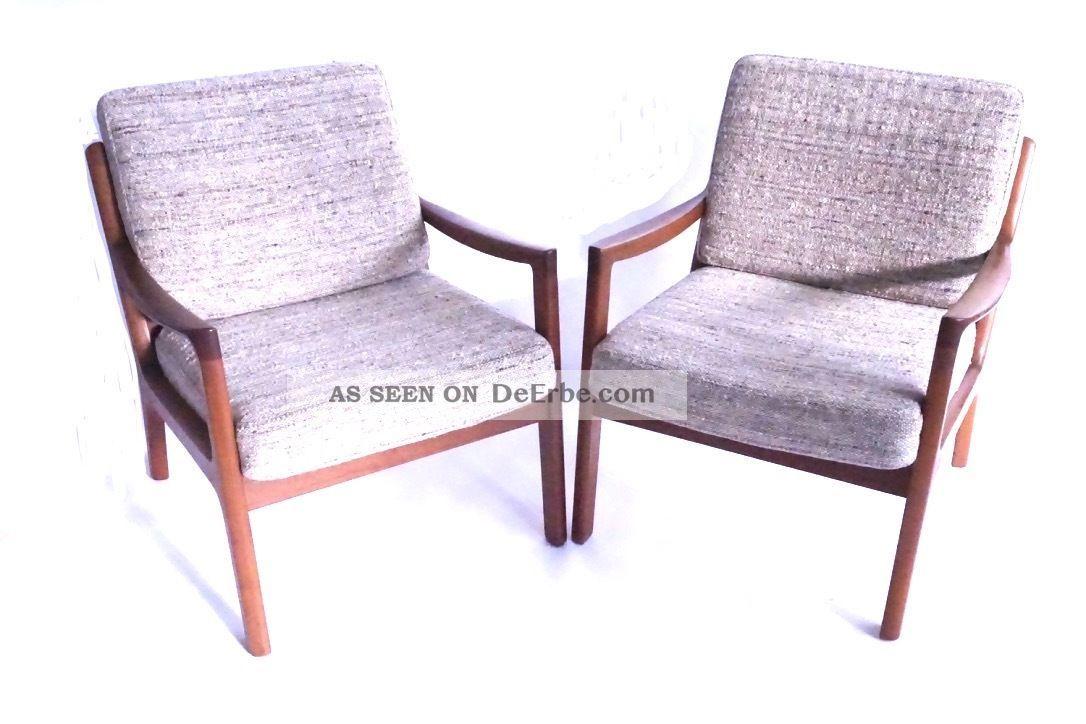 60s Ole Wanscher Mid Century Modern Teak Sessel 60er Easy Chair Cado DÄnemark 1960-1969 Bild