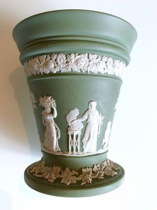 Wedgwood Kleine Vase Jasperware England 20.  Jhd. Bild