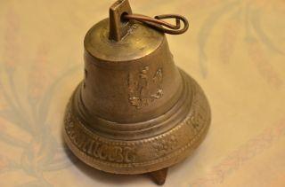 Alte Antike Russische Glocke Datiert 1873 Bild