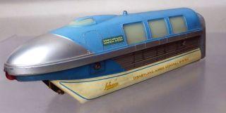 Schuco Monorail 6333/0; Triebwagenzug 3 - Teilig,  Blau /d239 Bild